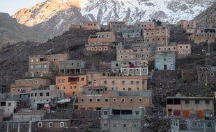 Le village d'Imlil, à deux heures de marche du lieu où les corps ont été retrouvés.