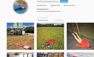 «C'est la vie que je mène», le compte Instagram qui se moque des influenceurs.