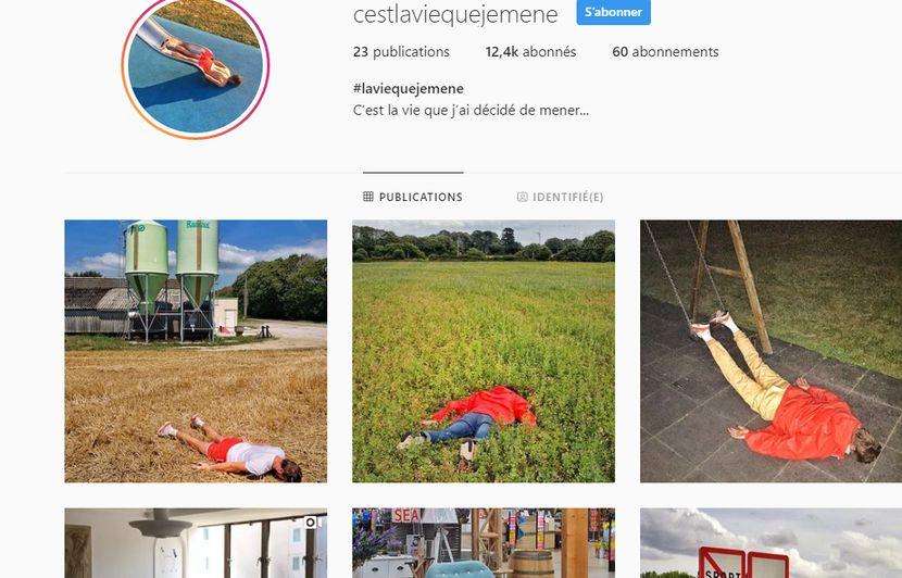 «C'est la vie que je mène», le compte Instagram qui se moque des influenceurs