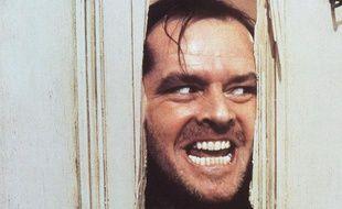 Jack Nicholson dans le film «Shining» de Stanley Kubrick, sorti en 1980.