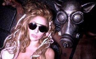 Lady Gaga en répétition pour l'iTunesFestival 2013.