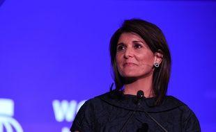 L'ancienne ambassadrice des Etats-Unis à l'ONU Nikki Haley le 6 novembre 2019 à New York.