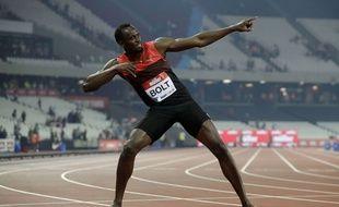 Usain Bolt au meeting de Londres le 22 juillet 2016.