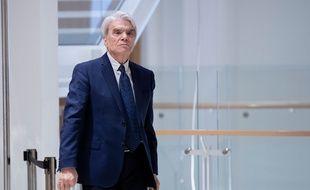 Bernard Tapie au tribunal de Paris le 21 mars 2019.