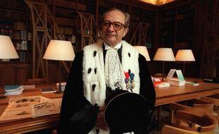 Francois Logerot, président de la cour des comptes en 2001