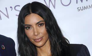 Kim Kardashian en 2017 à New York