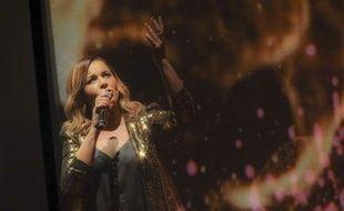 Chimène Badi lors de la première demi-finale de «Destination Eurovision» 2019.