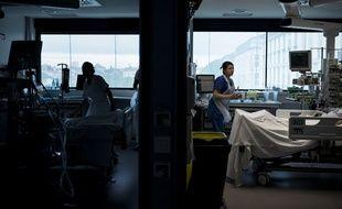 Des infirmières à l'hôpital de la Croix-Rousse à Lyon -  Illustration