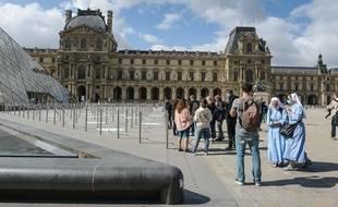 Le musée du Louvre, lors de sa réouverture, le 6 juillet dernier.