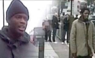 Les deux suspects de l'attentat de Woolwich, à Londres, le 22 mai 2013.