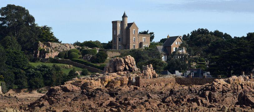 L'île de Béniguet est située dans l'archipel de Bréhat.