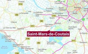 Le drame s'est déroulé sur la commune de Saint-Mars-de-Coutais.