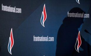 Photographie prise durant le 15e congrès du FN à Lyon, le 29 novembre 2014.