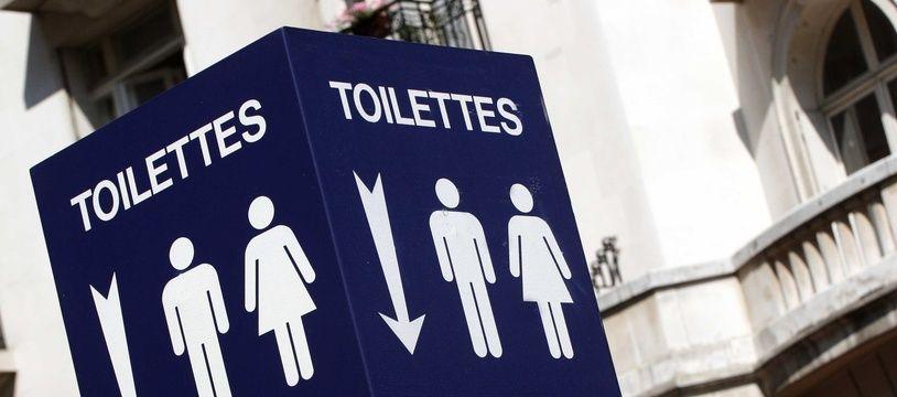 Des toilettes. (Illustration)