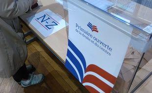 Un bureau de vote du centre-ville de Toulouse, le 20 novembre 2016, lors du premier tour de la primaire de la droite et du centre.