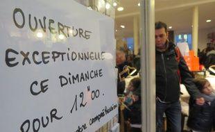 Les commerces ouverts le dimanche 11 décembre 2016 à Nantes