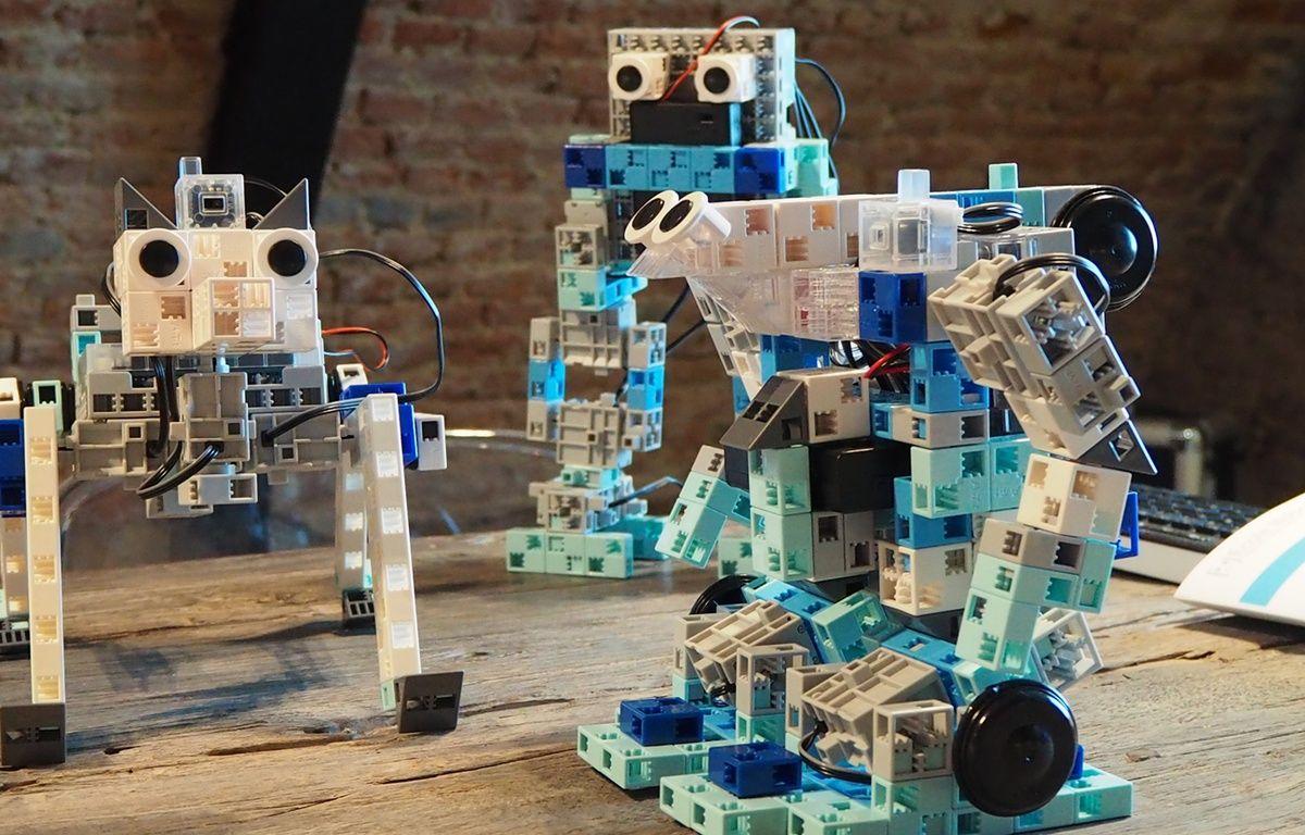 Speechi lance des robots à construire pour apprendre le codage informatique aux élèves.  – Julie Goujon
