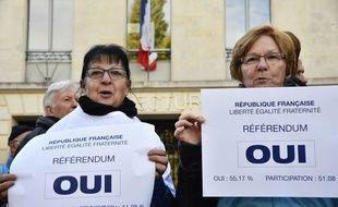 Des partisans au projet d'aéroport de Notre-Dame-des-Landes.