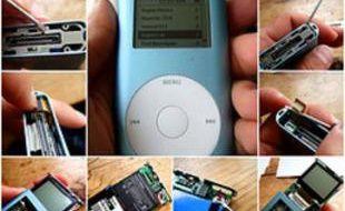 Remplacement d'une batterie d'iPod Mini