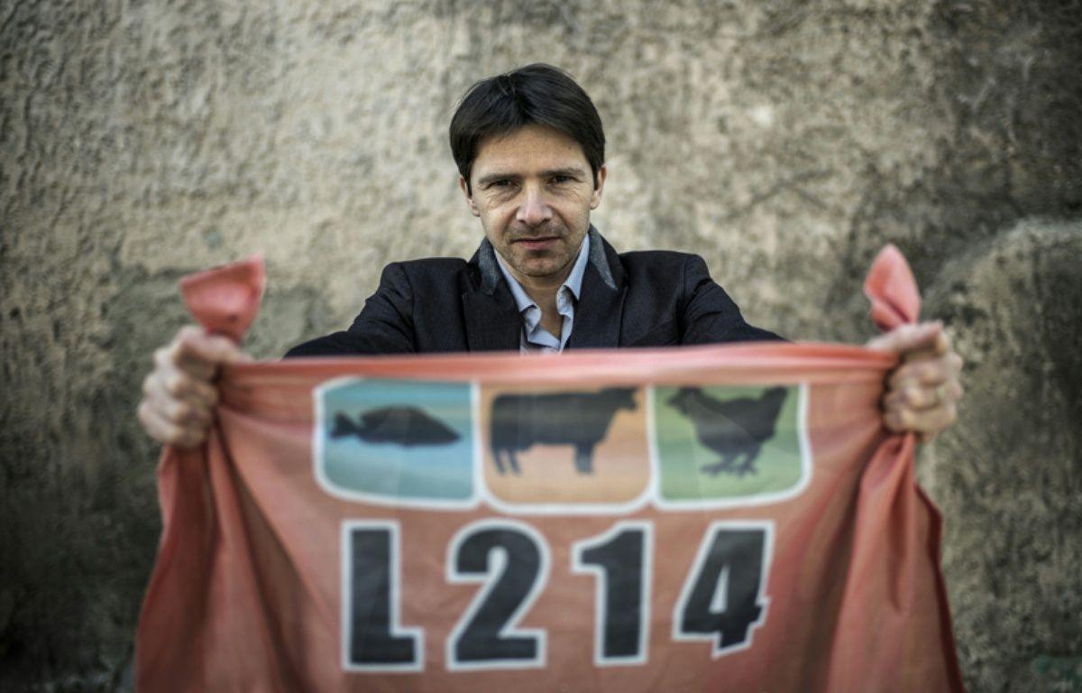 Sébastien Arsac, cofondateur de L214. L'homme de terrain de l'association. – JEFF PACHOUD / AFP