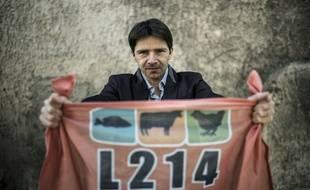 Sébastien Arsac, cofondateur de L214. L'homme de terrain de l'association.