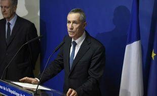 Le procureur Francois Molins lors d'une conférence de presse le 18 novembre à Paris