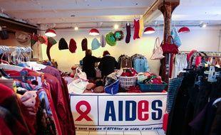 Illustration de l'association Aides, qui a alerté sur la discrimination vis-à-vis des séropositifs.
