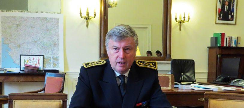 Claude d'Harcourt, nouveau préfet des Pays-de-la-Loire.