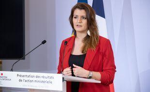 La ministre déléguée à la citoyenneté, Marlène Schiappa.