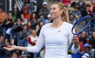 Maria Sharapova à Los Angeles en décembre 2015.