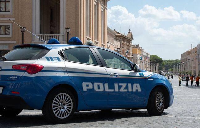 648x415 voiture police italienne illustration
