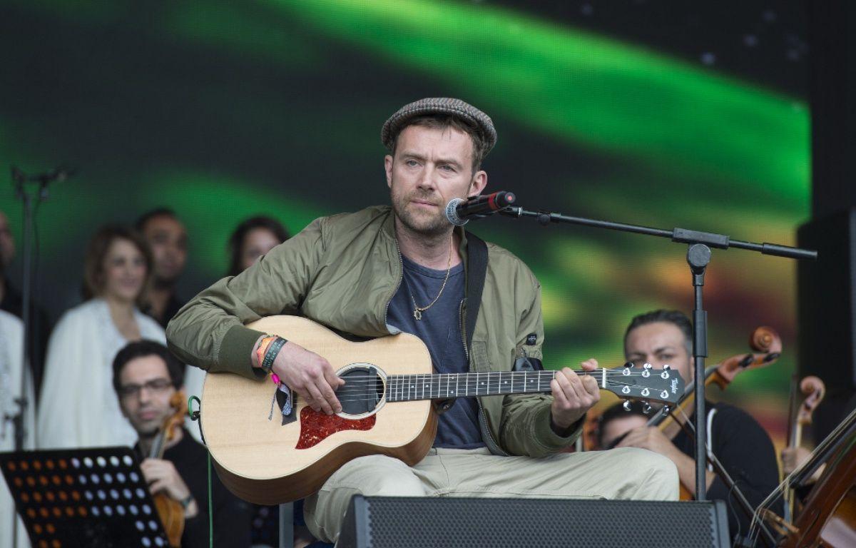 L'artiste Damon Albarn au festival de Glastonbury en 2016 – WENN