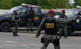 Un important dispositif a été déployé au Brésil pour retrouver l'assassin présumé de quatre personnes d'une même famille. (Illustration)