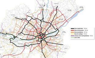 Le futur réseau express vélo de Nantes métropole