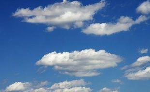 Illustration d'un ciel nuageux.