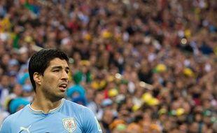Luis Suarez contre l'Angleterre le 19 juin 2014.