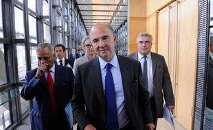 Pierre Moscovici, le 28 août àBercy.