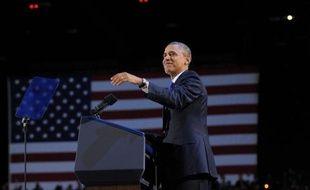Trois jours après sa réélection, Barack Obama consacrera sa première intervention depuis la Maison Blanche à l'économie, dans un contexte marqué par la nécessité pour un Congrès divisé de trouver d'ici la fin de l'année un accord sur un plan de réduction de la dette du pays.