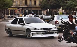 Un extrait lors du tournage du premier opus de «Taxi», à Marseille, en 1998
