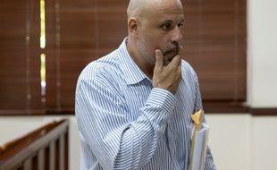 Nicolas Pisapia dans un tribunal de Saint-Domingue en République Dominicaine, le 24 avril 2016