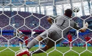Harry Kane a marqué ses deux penaltys contre le Panama.