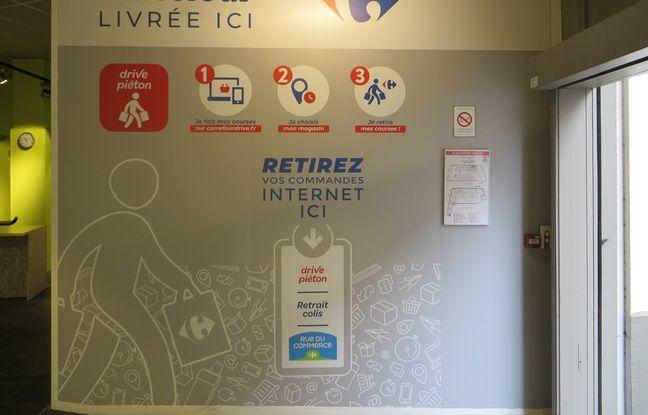 Lyon: Les premiers «drive piéton» proposés par Carrefour débarquent en centre-ville