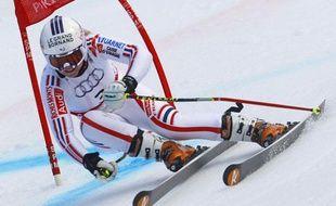 La skieuse française Tessa Worley, lors du Géant des championnats du monde de Garmisch, le 17 février 2011.