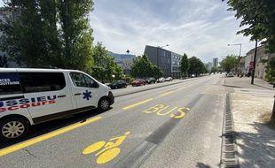 Une voie sera réservée aux vélos et aux transports en commun sur les boulevards à Bordeaux