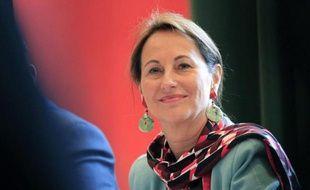 La ministre de l'Ecologie Ségolène Royal le 24 avril 2015 à Ajaccio