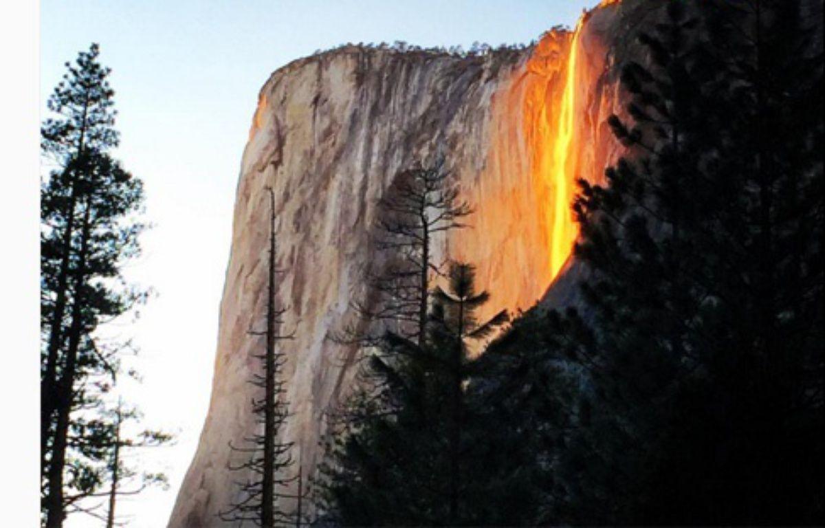 Capture écran cliché Instagram du compte shank0205 prise dans le parc naturel américain Yosemite le 15 février 2016.  – shank0205/Instagram