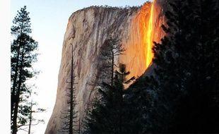 Capture écran cliché Instagram du compte shank0205 prise dans le parc naturel américain Yosemite le 15 février 2016.