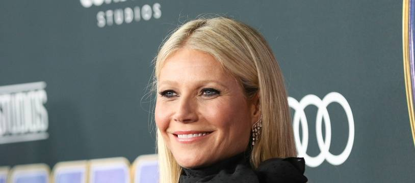 L'actrice Gwyneth Paltrow à Los Angeles.