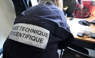 Illustration d'une intervention de la police technique et scientifique, ici à Rennes.
