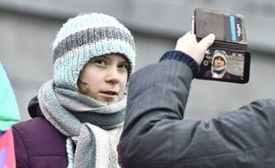 Greta Thunberg à Stockholm, le 3 janvier 2020.